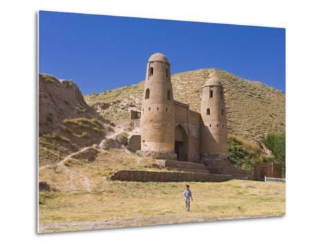 Fortress of Hissar, Tajikistan, Central Asia-Michael Runkel-Metal Print