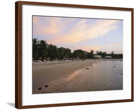 Sunset at Saly, Senegal, West Africa, Africa-Robert Harding-Framed Art Print