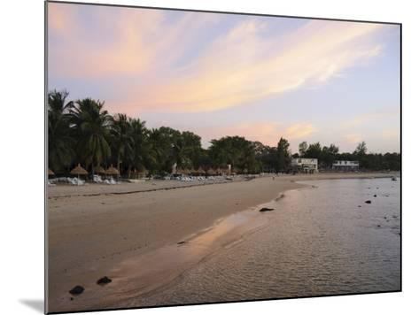 Sunset at Saly, Senegal, West Africa, Africa-Robert Harding-Mounted Photographic Print