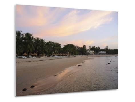 Sunset at Saly, Senegal, West Africa, Africa-Robert Harding-Metal Print