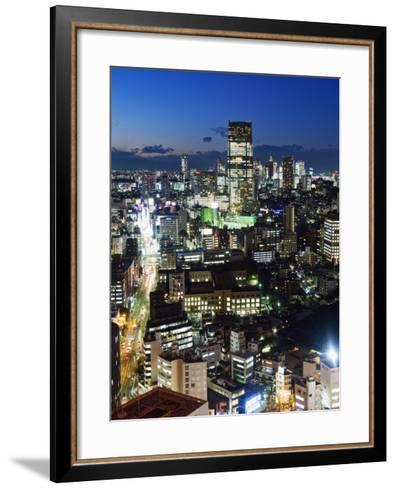 City Skyline View Looking Towards Roppongi from Tokyo Tower, Tokyo, Japan, Asia-Christian Kober-Framed Art Print