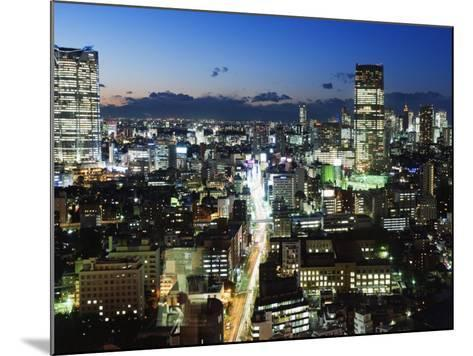 City Skyline View Looking Towards Roppongi from Tokyo Tower, Tokyo, Japan, Asia-Christian Kober-Mounted Photographic Print