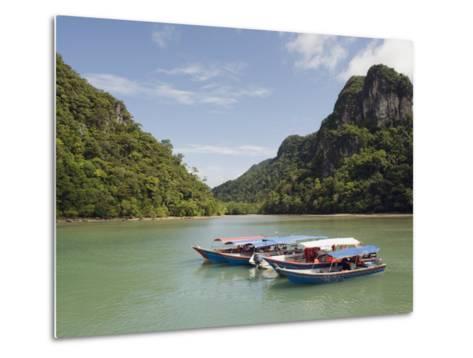 Colourful Boats, Langkawi Island, Kedah State, Malaysia, Southeast Asia, Asia-Christian Kober-Metal Print