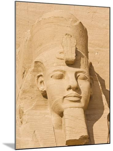 Giant Statue of the Great Pharaoh Rameses Ii, Temple Rameses Ii at Abu Simbel, Egypt-Neale Clark-Mounted Photographic Print