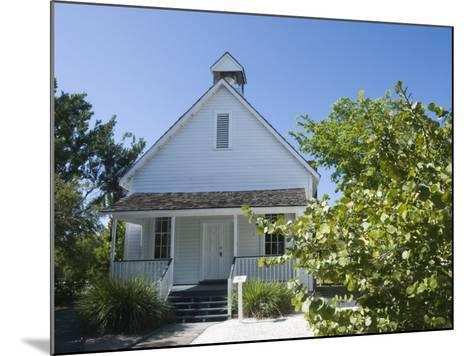 Old Houses in Historic Village Museum, Sanibel Island, Gulf Coast, Florida-Robert Harding-Mounted Photographic Print
