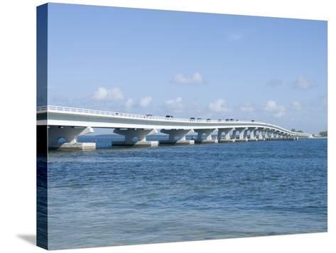 Bridge Connecting Sanibel Island to Mainland, Gulf Coast, Florida, United States of America, North -Robert Harding-Stretched Canvas Print