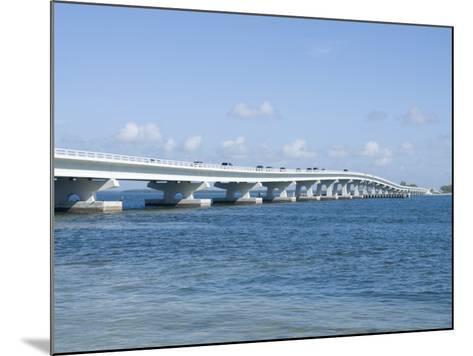 Bridge Connecting Sanibel Island to Mainland, Gulf Coast, Florida, United States of America, North -Robert Harding-Mounted Photographic Print