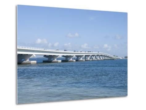 Bridge Connecting Sanibel Island to Mainland, Gulf Coast, Florida, United States of America, North -Robert Harding-Metal Print