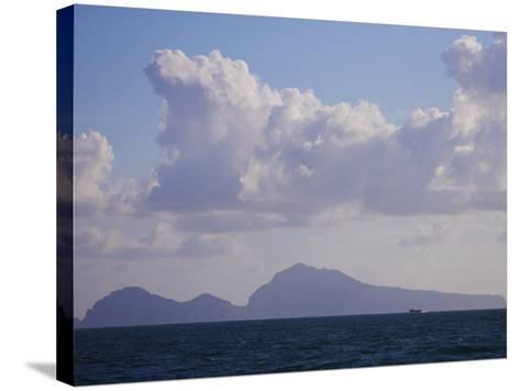 Hydrofoil, Capri, Campania, Italy, Europe--Stretched Canvas Print