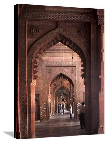 Fatehpur Sikri, UNESCO World Heritage Site, Uttar Pradesh, India-Balan Madhavan-Stretched Canvas Print