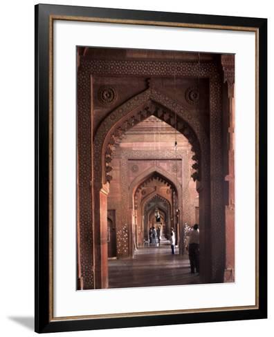Fatehpur Sikri, UNESCO World Heritage Site, Uttar Pradesh, India-Balan Madhavan-Framed Art Print