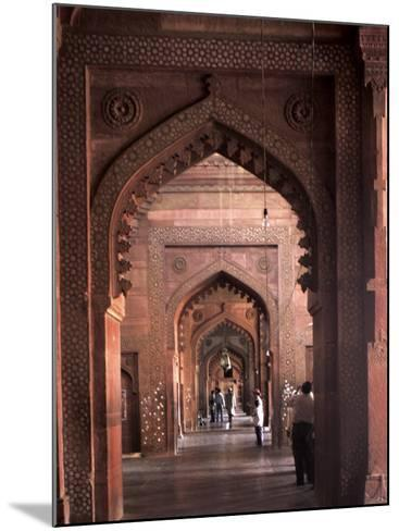 Fatehpur Sikri, UNESCO World Heritage Site, Uttar Pradesh, India-Balan Madhavan-Mounted Photographic Print