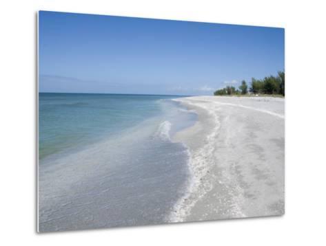 Beach Covered in Shells, Captiva Island, Gulf Coast, Florida, United States of America-Robert Harding-Metal Print