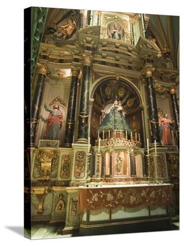 Basilica Cathedral of Lima, Lima, Peru, South America-Michael DeFreitas-Stretched Canvas Print