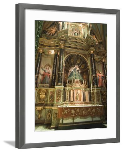 Basilica Cathedral of Lima, Lima, Peru, South America-Michael DeFreitas-Framed Art Print