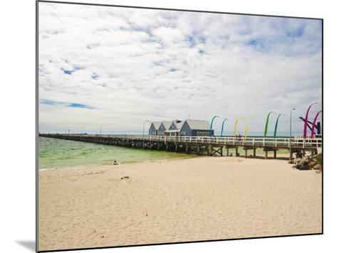 Busselton Jetty Built for the Logging Trade, Now a Tourist Attraction, Busselton, Western Australia-Robert Francis-Mounted Photographic Print