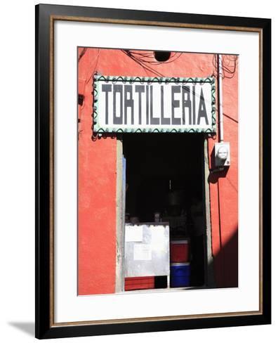 Tortilleria (Tortilla Shop), Guanajuato, Guanajuato State, Mexico, North America-Wendy Connett-Framed Art Print