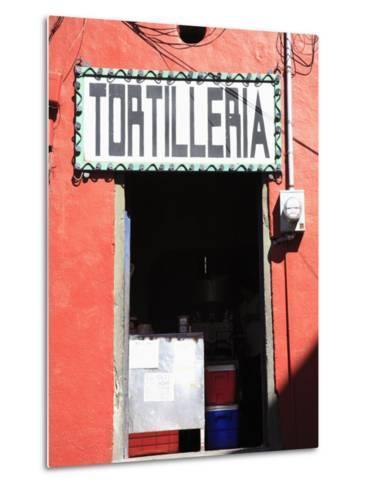 Tortilleria (Tortilla Shop), Guanajuato, Guanajuato State, Mexico, North America-Wendy Connett-Metal Print