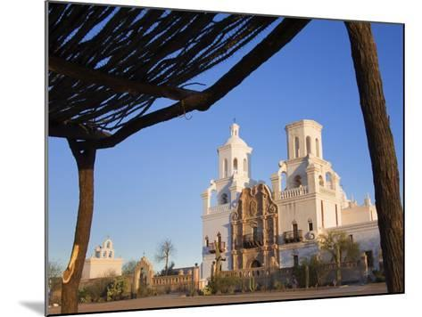Mission San Xavier Del Bac, Tucson, Arizona, United States of America, North America-Richard Cummins-Mounted Photographic Print