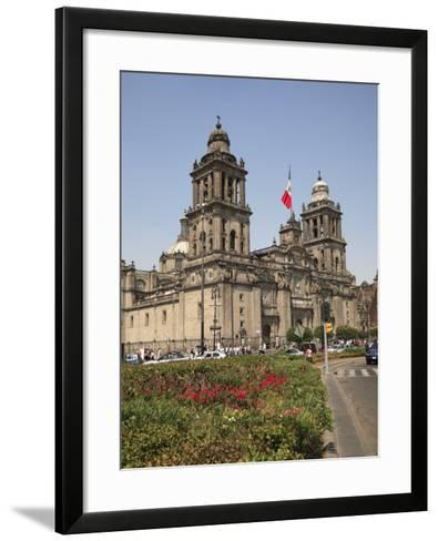 Metropolitan Cathedral, Zocalo, Mexico City, Mexico, North America-Wendy Connett-Framed Art Print