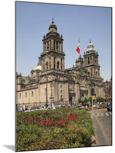 Metropolitan Cathedral, Zocalo, Mexico City, Mexico, North America-Wendy Connett-Mounted Photographic Print