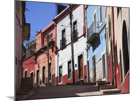 Narrow Street, Guanajuato, Guanajuato State, Mexico, North America-Wendy Connett-Mounted Photographic Print