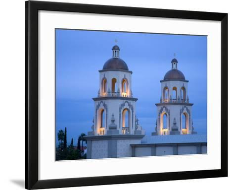 St. Augustine Cathedral, Tucson, Arizona, United States of America, North America-Richard Cummins-Framed Art Print