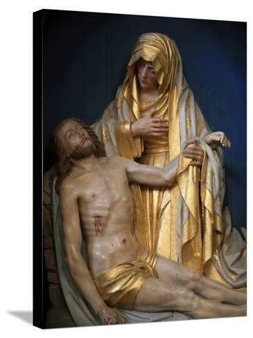 Pieta, Pont-L'Abbe, Finistere, Brittany, France, Europe-Godong-Stretched Canvas Print