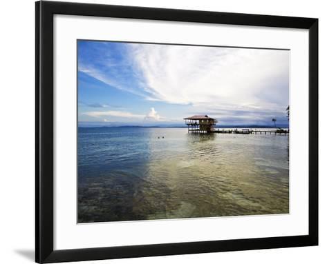 Carenero Island (Isla Carenero), Bocas Del Toro Province, Panama, Central America-Jane Sweeney-Framed Art Print