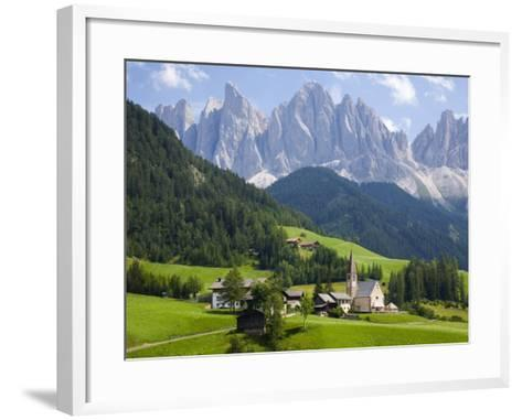 Parco Naturale Puez-Odle, Santa Maddalena, Val Di Funes, Dolomites, Bolzano, Italy-Ruth Tomlinson-Framed Art Print