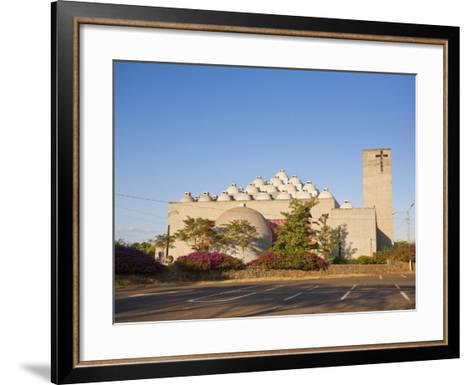 New Cathedral (Nueva Catedral), Managua, Nicaragua, Central America-Jane Sweeney-Framed Art Print