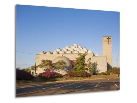 New Cathedral (Nueva Catedral), Managua, Nicaragua, Central America-Jane Sweeney-Metal Print
