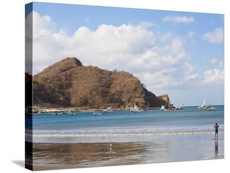 Beach Front, San Juan Del Sur, Nicaragua, Central America-Jane Sweeney-Stretched Canvas Print