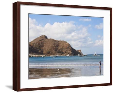 Beach Front, San Juan Del Sur, Nicaragua, Central America-Jane Sweeney-Framed Art Print