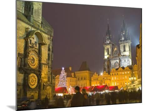 Old Town Hall, Astronomical Clock, Prague, Czech Republic-Marco Cristofori-Mounted Photographic Print