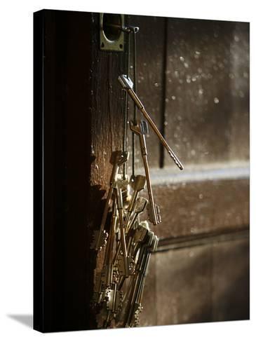 Keys, San Vivaldo, Tuscany, Italy, Europe-Godong-Stretched Canvas Print