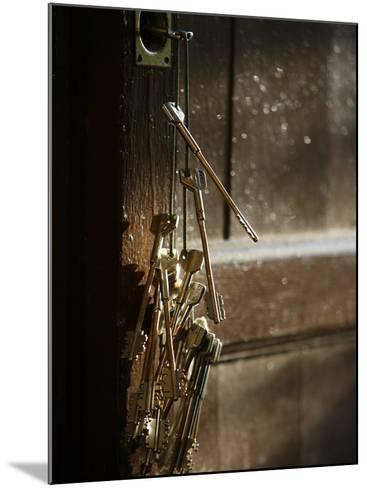 Keys, San Vivaldo, Tuscany, Italy, Europe-Godong-Mounted Photographic Print