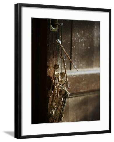Keys, San Vivaldo, Tuscany, Italy, Europe-Godong-Framed Art Print