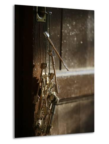 Keys, San Vivaldo, Tuscany, Italy, Europe-Godong-Metal Print