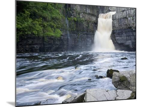 High Force on the River Tees Near the Village of Middleton-In-Teesdale, County Durham, England, UK-Ruth Tomlinson-Mounted Photographic Print