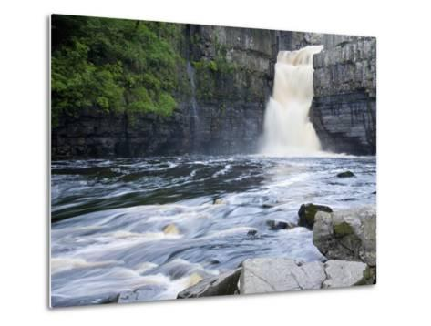 High Force on the River Tees Near the Village of Middleton-In-Teesdale, County Durham, England, UK-Ruth Tomlinson-Metal Print