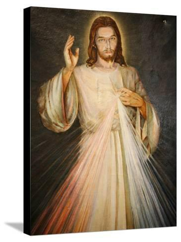 Merciful Christ, Paris, France, Europe-Godong-Stretched Canvas Print
