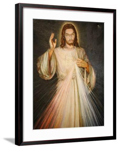 Merciful Christ, Paris, France, Europe-Godong-Framed Art Print