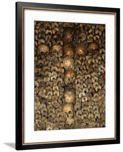 Paris Catacombs, Paris, France, Europe-Godong-Framed Art Print