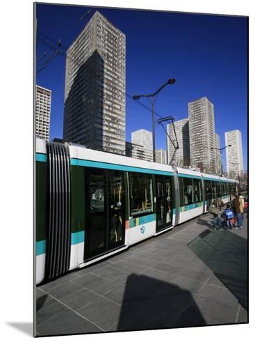 Paris Tramway, Paris, France, Europe-Godong-Mounted Photographic Print