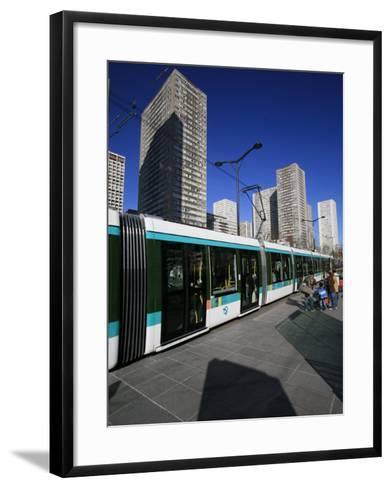 Paris Tramway, Paris, France, Europe-Godong-Framed Art Print