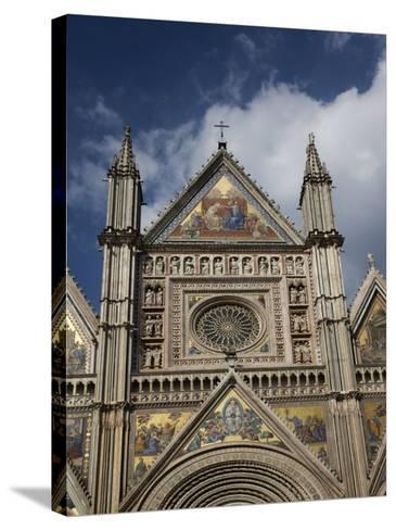 Cathedral (Duomo), Orvieto, Umbria, Italy, Europe-Angelo Cavalli-Stretched Canvas Print