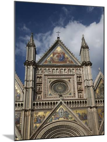 Cathedral (Duomo), Orvieto, Umbria, Italy, Europe-Angelo Cavalli-Mounted Photographic Print
