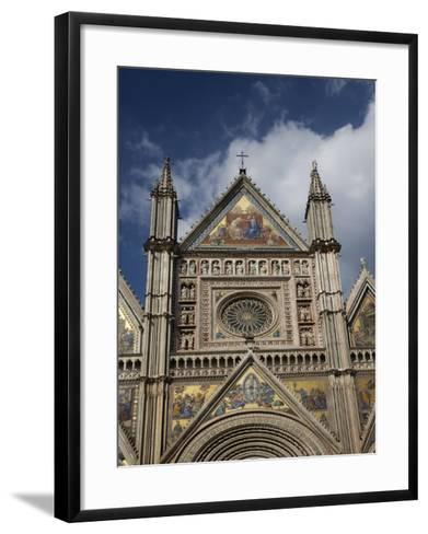 Cathedral (Duomo), Orvieto, Umbria, Italy, Europe-Angelo Cavalli-Framed Art Print