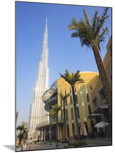 Burj Khalifa, the Tallest Tower in World at 818M, Downtown Burj Dubai, Dubai, United Arab Emirates-Amanda Hall-Mounted Photographic Print